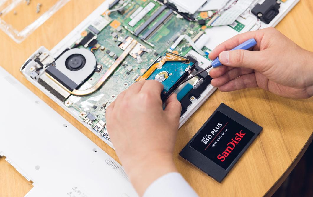 SSD交換サポート
