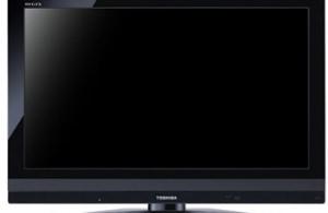 東芝の発売されたばかりの最新型 液晶テレビ