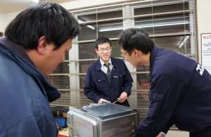 電子レンジの修理