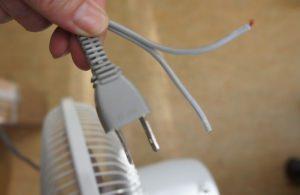 扇風機の修理
