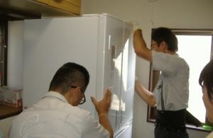 冷蔵庫納品とリサイクル