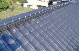 屋根瓦張り替え 完了!