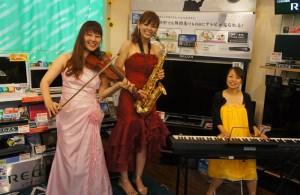 カノデンキ ミニコンサート開催しました!