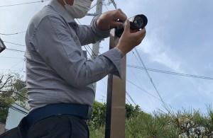 防犯カメラの設置依頼が増えています